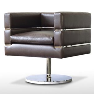Z3 Swivel Chair Side View Nathan Anthony Furniture