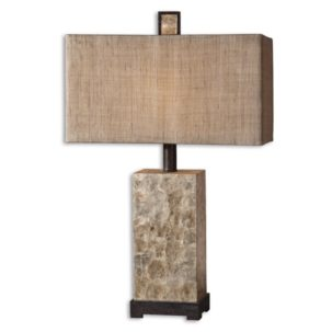 Rustic Pearl Table Lamp