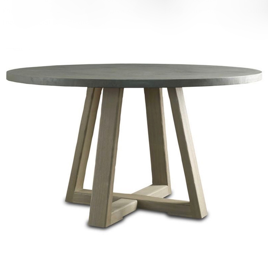 saratoga round dining table